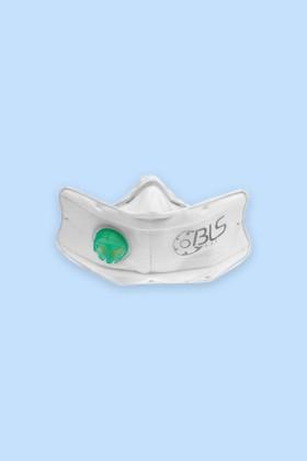 BLS 860 Olasz FFP3 R D többször használható szelepes maszk - 10 db