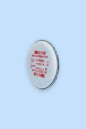 3M 2138 P3 (FFP3) aktívszenes szűrőbetét - Szűrőbetét - 1 pár
