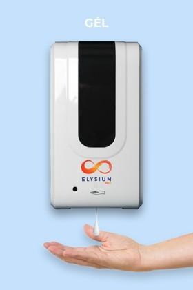 Elysium Pro professzionális, érintésmentes, 1200 ml-es adagoló - Gél - Állvány nélkül - Fehér
