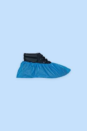 Gumis cipővédő (PE 2,5g) - 100 db - Kék