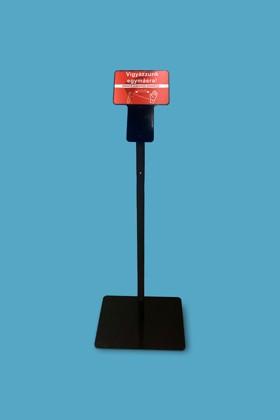 Egyedi állvány Elysium fali lázmérőhöz - Fekete