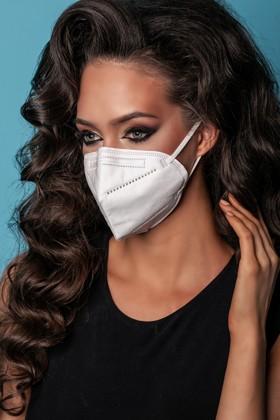 Legal Beauty KN95/FFP2 7 rétegű maszk - szelep nélküli - 10 db - Fehér