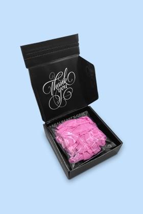 Legal Beauty Nitril CE 0321 pink kesztyű - 20 db - XS