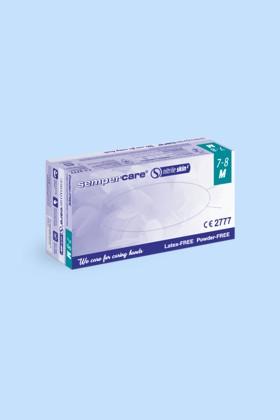 Sempercare prémium minőségű CE 2777 nitril kesztyű - 200 db - Kék - L - Kék