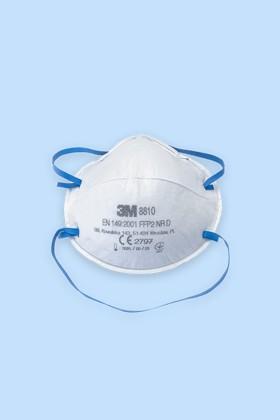 3M 8810 FFP2 légzésvédő maszk - Arcmaszk - 20 db - Fehér