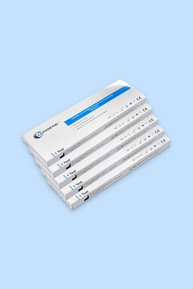 Clungene COVID-19 antigén gyorsteszt – 5 x 1 db tesztkészlet (nyálból) - 5 x 1 db
