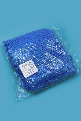 Harmonikás hajháló - Hajháló - 100 db - Kék