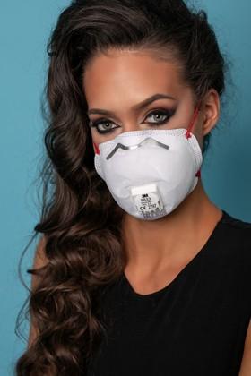 3M 8833 FFP3 RD légzésvédő maszk - szelepes - 10 db