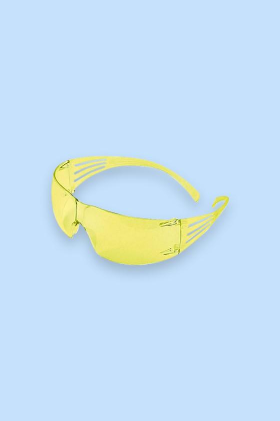 3M SecureFit SF203AF-EU védőszemüveg - sárga - Védőszemüveg - 1 db - Sárga