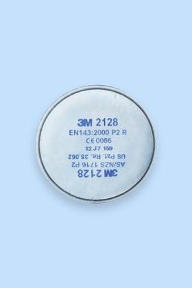 3M 2128 P2 (FFP2) aktívszenes szűrőbetét - Szűrőbetét - 1 pár