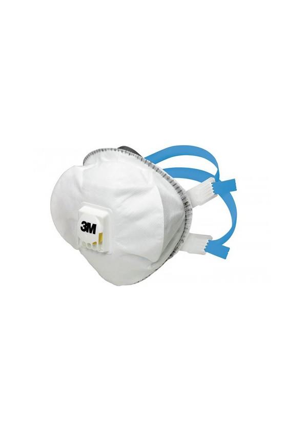 3M 8825+ FFP2 prémium részecskeszűrő maszk - szelepes - Arcmaszk - 5 db - Fehér
