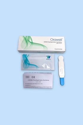 Well Biotech SARS-CoV-2 készlet - SARS-CoV-2 teszt - 1 db - Antigén (Ag) Nyalókás