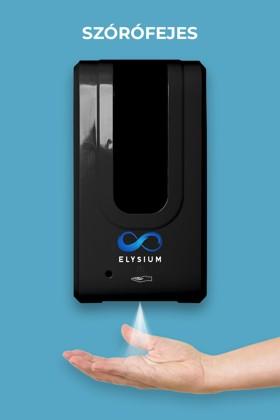 Elysium professzionális, érintésmentes, 1200 ml-es adagoló - Szórófejes folyadék - Állvány nélkül - Fekete