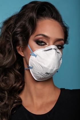 3M 8810 FFP2 légzésvédő maszk - 20 db - Fehér