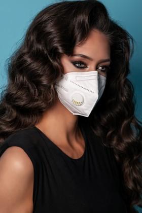 Legal Beauty KN95/FFP2 7 rétegű maszk - szelepes - fehér - 10 db - Fehér