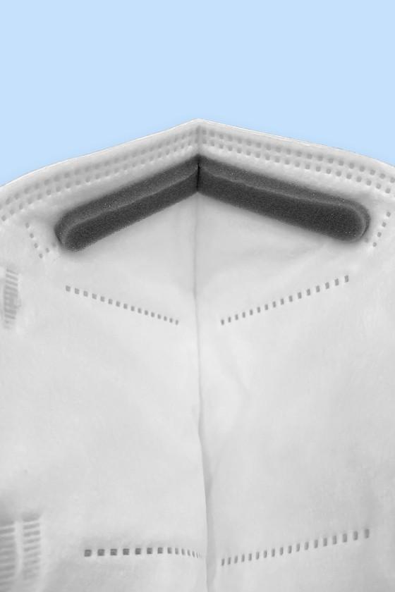 Jada FFP3 CE 0370 - FFP3 maszk - 5 db - Fehér - Szelep nélküli
