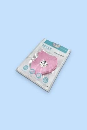 FFP2 (N95/KN95) 5 rétegű gyerekmaszk - pink - szelepes - 2 db - 5 rétegű