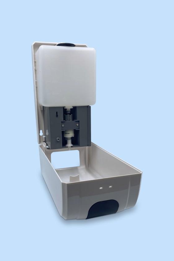 Elysium Pro professzionális, érintésmentes, 1200 ml-es adagoló - Adagoló - Szórófejes - Fehér állvánnyal - Fehér